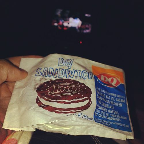 Whats another 190 calories hey? Nightsnacks DQsandwich Goodnight Alwayshungry