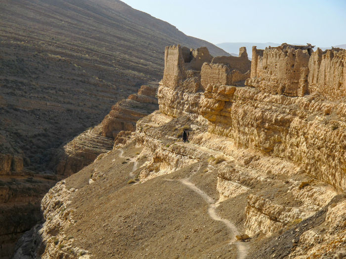 Tunisia castle Rock Mountain Landscape Rock Formation History Nature The Past Environment Rock - Object Day Scenics - Nature Solid Travel Destinations Land Architecture Beauty In Nature No People Sky Tranquil Scene Ancient Outdoors Ancient Civilization Arid Climate Climate