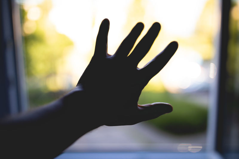 Bokeh Bokeh Photography Bokehlicious Bokeh Lights Bokeh Background Free Freedom Light Light And Shadow Sun Sunlight Human Hand Palm Silhouette Human Finger Close-up Hand Stop Gesture Stop - Single Word Finger Body Part Wrist Window Stop Sign