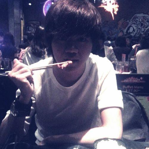 Dine at ROCKU YAKINIKU. With @liewjiaquan