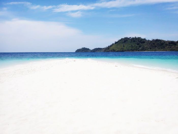 Sky Sea Sand Enjoying Life