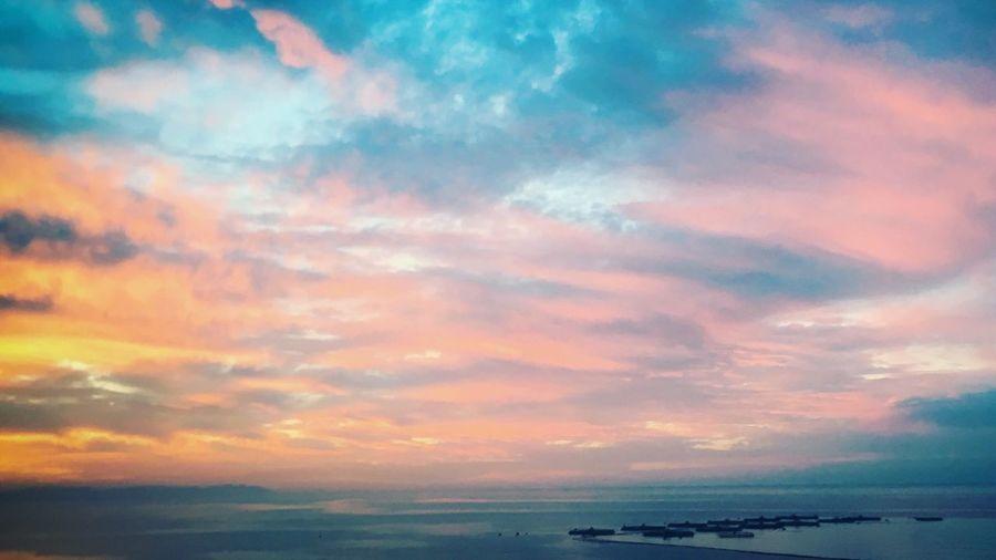 Mornings in the Sea Sea And Sky Sea Almería Morning SPAIN Spain ✈️🇪🇸