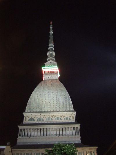 Night Illuminated Travel Destinations Architecture Sky Tourism City Light Effect Outdoors No People Torino Lamoleantonelliana
