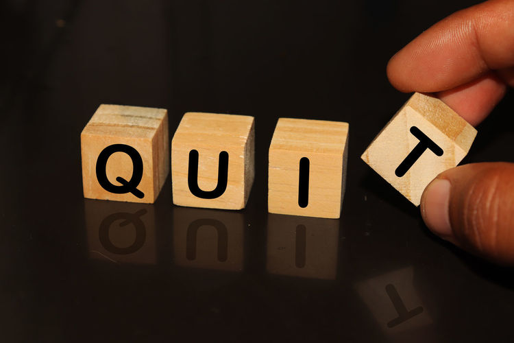 QUIT made with