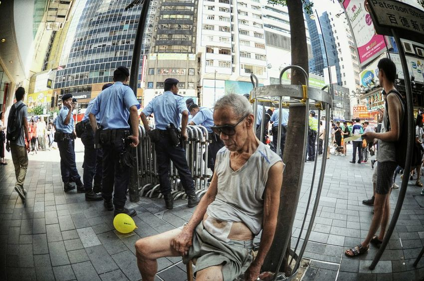 The Photojournalist - 2015 EyeEm Awards @ 71大遊行 2015 你要真普選 我有我睡覺 警民關係 The Old Man Naked Hot Hongkonger My Best Photo 2015