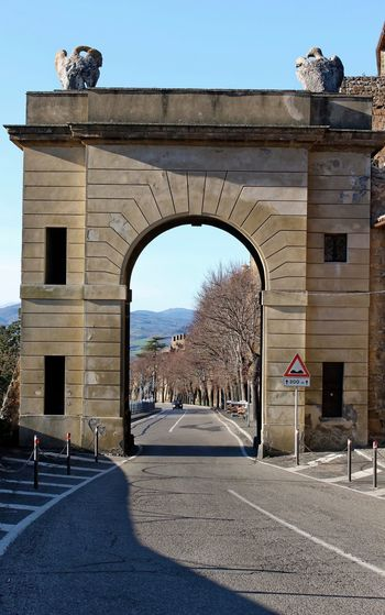 Orvieto, Italy Travel Travel Photography Traveling Arch Architecture Built Structure Clear Sky Day Hill Towns History Italian Italy No People Orvieto Outdoors Sky Sunlight Travel Destinations Tree
