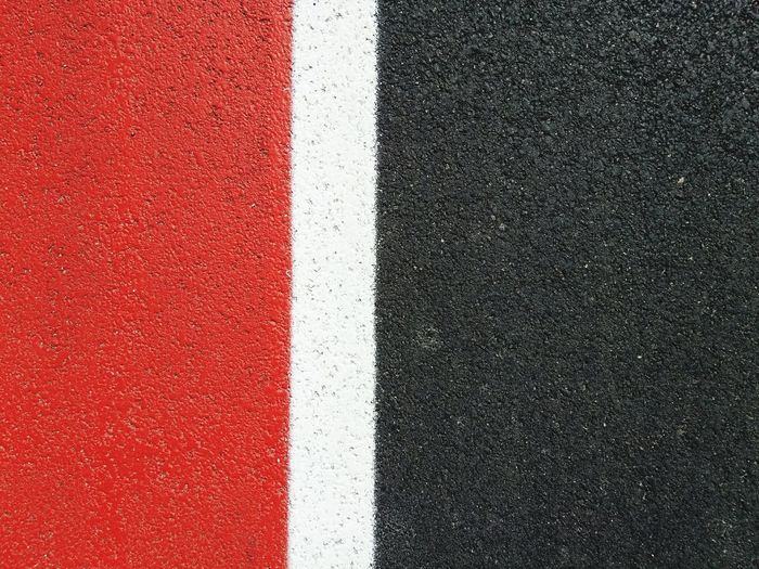 Full Frame Asphalt Textured  No People Sport Backgrounds Red Running Track Day Outdoors Close-up