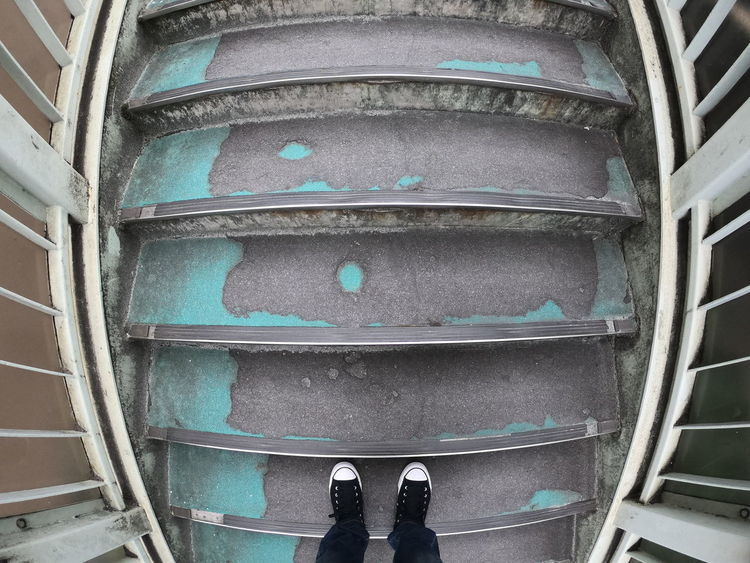 The Places I've Been Today GoProhero6 Low Section Standing Human Leg Shoe Directly Above Personal Perspective Human Foot Unrecognizable Person Men Close-up Footwear Canvas Shoe Steps And Staircases Stairway Stairs Creative Space The Traveler - 2018 EyeEm Awards