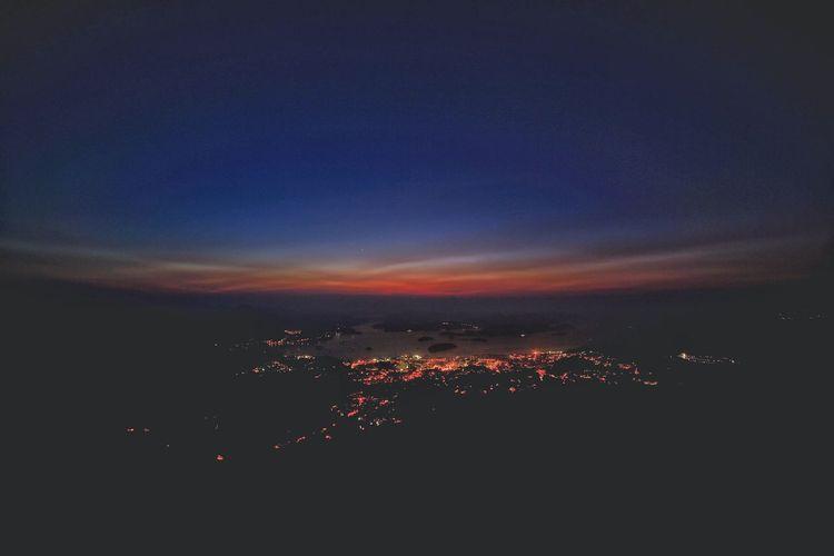 睡夢中 Beauty In Nature Tranquil Scene Tranquility No People Scenics Nature Sky Outdoors Night Before Dawn Ma On Shan Ngonping Camp Site Sai Kung HongKong