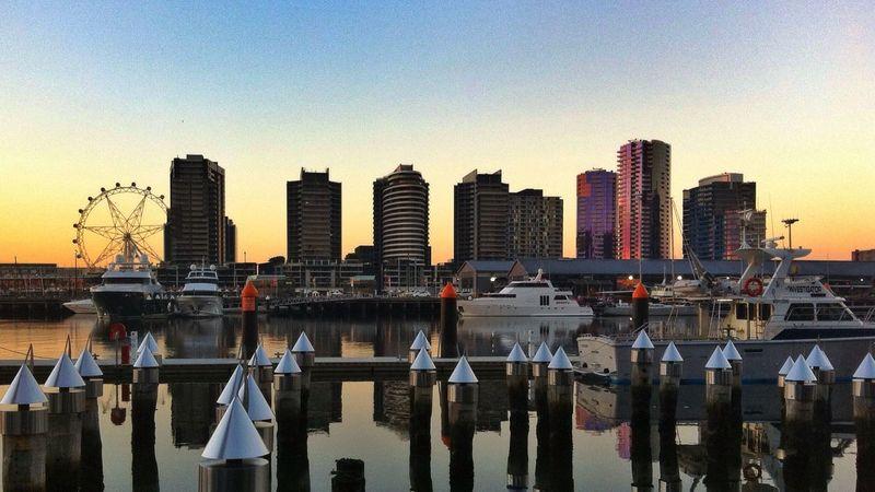 Victoria Harbour, Docklands Melbourne. Australia Docklands Victoria Harbor Melbourne Victoria Australia