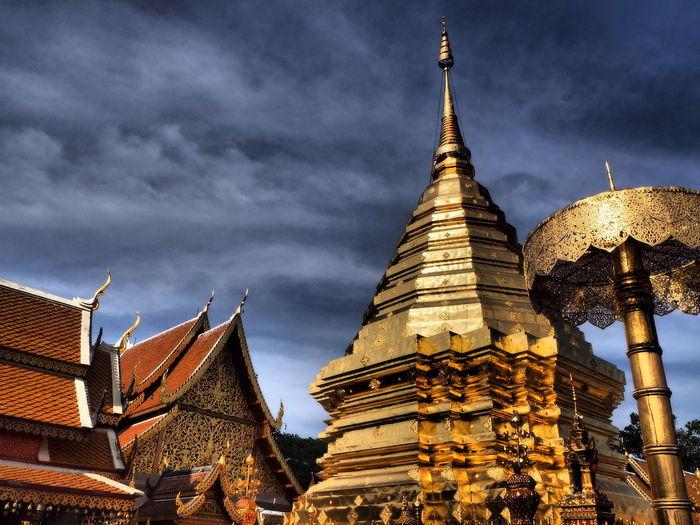 doi su thep CNX thailand Enjoying Life Week End Thai Temple Landscape
