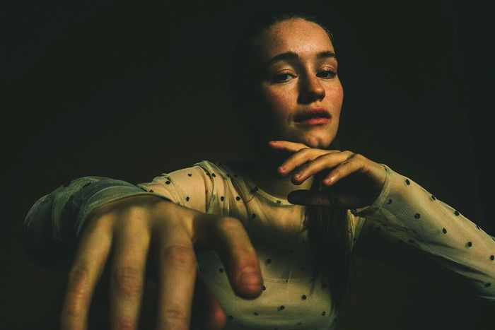 Sigrid on assignment for Pitchfork Young Adult One Person Young Women Indoors  Women Close-up One Young Woman Only Human Hand Adult