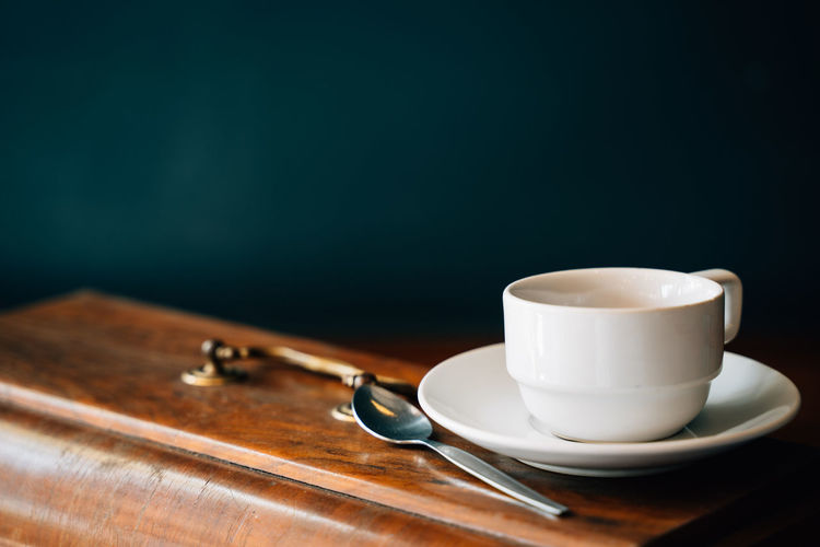 Background Beverage Breakfast Cafe Classic Coffee Coffee Break Cup Dark Decorate Decoration Dish Drink Food Gourmet Green Hot Kitchenware Lifestyle Mood Mug Old Ornament Plate Retro Rustic Serving Spoon Still Life Style Table Tea Tone Vintage Wood Wooden Coffee - Drink Coffee Cup Food And Drink Indoors  Eating Utensil Kitchen Utensil