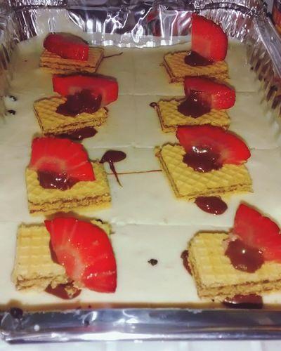 Cheesecake Oreo Nutella Strawberry