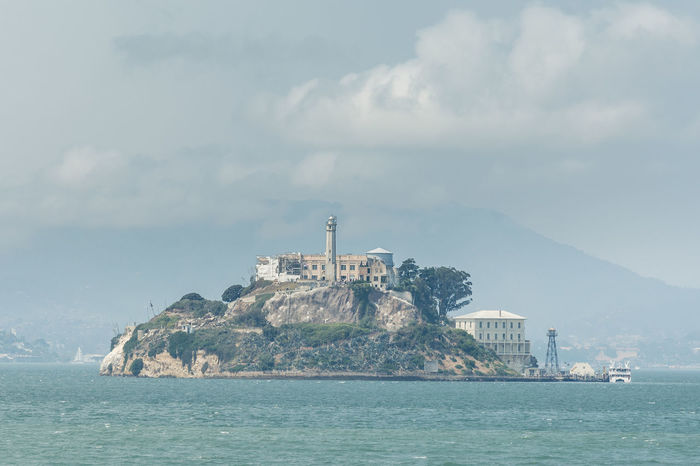 Day 7 Alcatraz Alcatraz Island Alcatraz In Sight Cityscape Let's Go Explore Tourist Attraction  Travel Photography USA Alcatrazisland Built Structure Day Island Land Last Summer Nature No People Sea Travel Destination Travel Destinations Travelphotography Usa Trip 2017 Water Waterfront