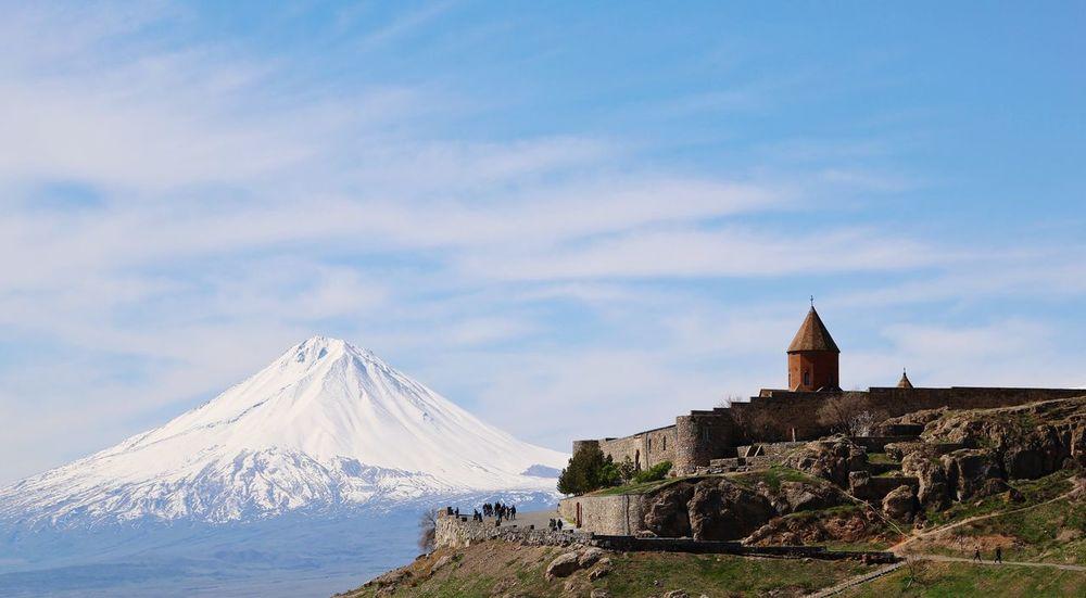 Ararat  Khor Virap Armenia Mountain