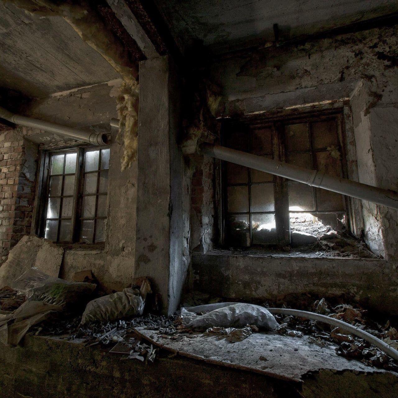 Interior Of Damaged Room