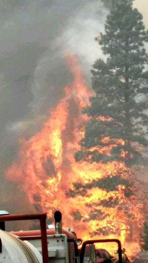 Wildlandfirefighter Wildlandfire Stoutscreek Oregon Lovemyman Protecting Where We Play