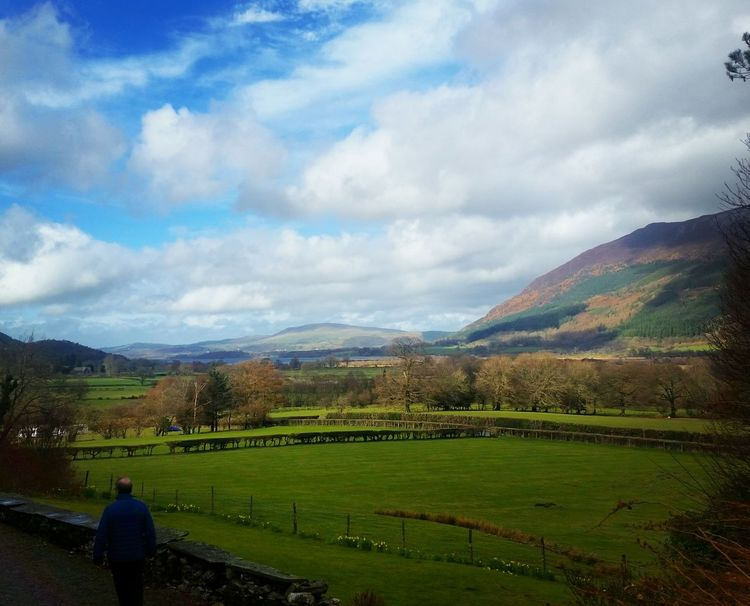 Valley views Lake District Uk Countryside Valley Lake Nature North West England Cumbria Landscapes With WhiteWall Landscape Clouds