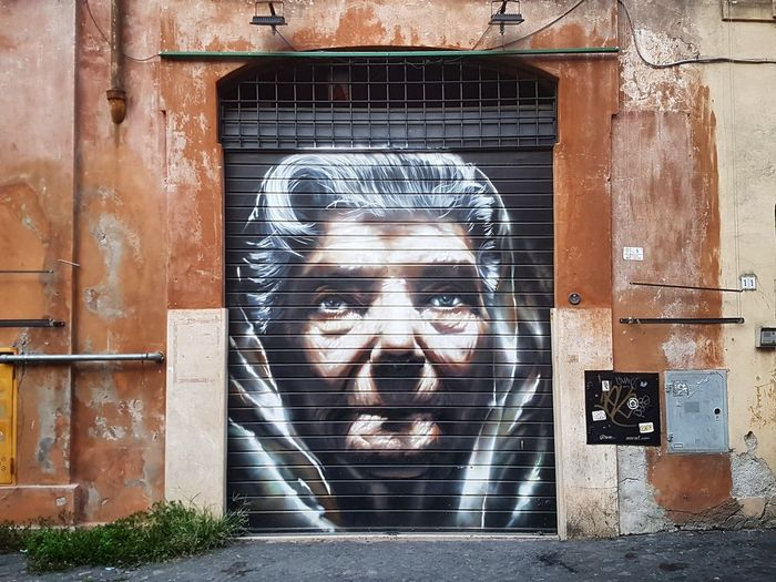 Beauty has no age Streetphotography Street Photography Art is Everywhere Visititaly EyeEm Selects Pixelated Portrait Technology Communication Close-up Architecture Street Art Graffiti Spray Paint Art ArtWork Female Likeness Mural Face Wall Hip Hop Drawn Stories From The City Inner Power