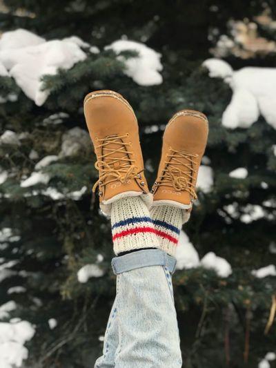 Ноги ботинки