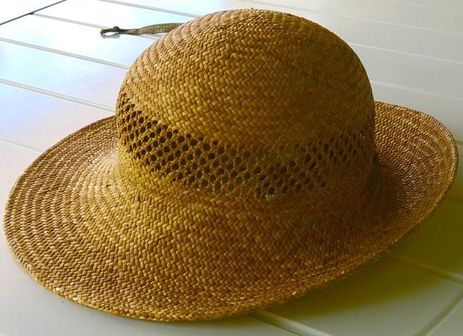 Hat No People Indoors  Close-up Day Hut Sonnenhut