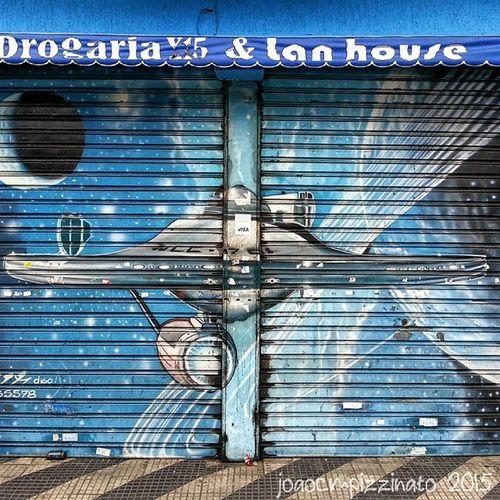 Star Trek. Startrek Graffiti UrbanART Streetart streetphotography urban colors city photography