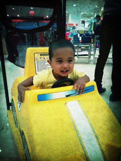 my nephew Smile My Car Priceless