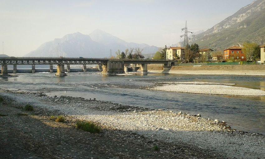 river riverside bridge Dam Mountain View