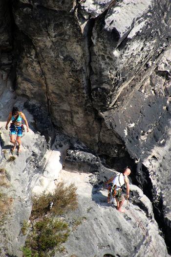 Elbsandsteingebirge Sächische Schweiz Activity Adventure Climbing Climbing Equipment Day Extreme Sports Leisure Activity Nationalpark Nature Outdoors People Rock Rock - Object Rock Climbing Rock Formation Sachsen Safety Solid Sport