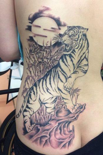 Tattoo Thunder Alley Art