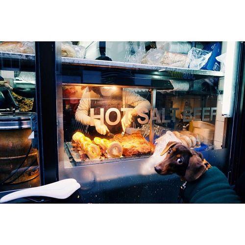 Waiting for a hot salt beef bagel, Brick Lane, London. Travel Travelphotography London Streetphotography vscocam ricohgr latergram