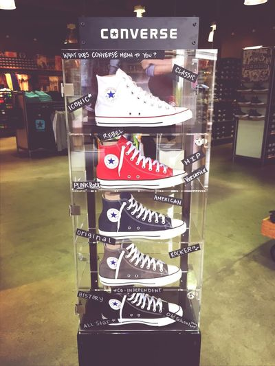 What does Converse mean to you? Comment Tell Me Question Answer