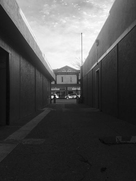 Back alley ..