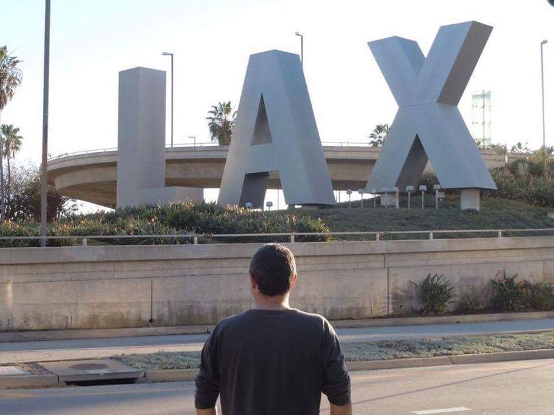 myself @ LAX (October 2009) LAX Los Angeles, California California Airport Los Ángeles Travel