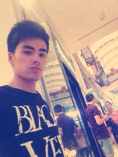 At shop