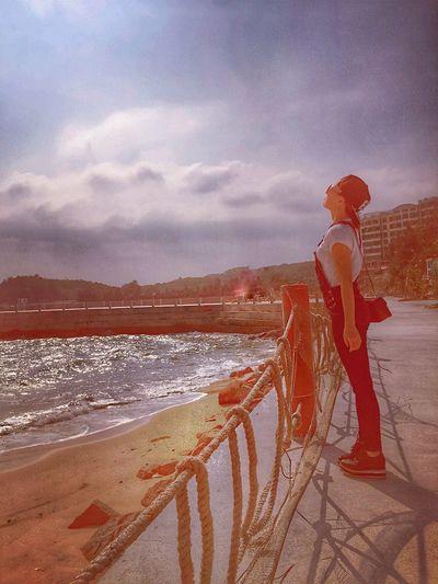 Moments Love Enjoying Life Sun Beach Hot Day 抓不住你就像抓不住夏天,冬天快乐❗
