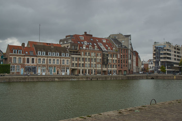 Architecture Building Exterior Built Structure Water Sky Cloud - Sky Building Nature City Residential District River No People Waterfront Day Overcast Outdoors Travel Destinations House Europe Trip France Trip France Canal Canals And Waterways Canal Walks