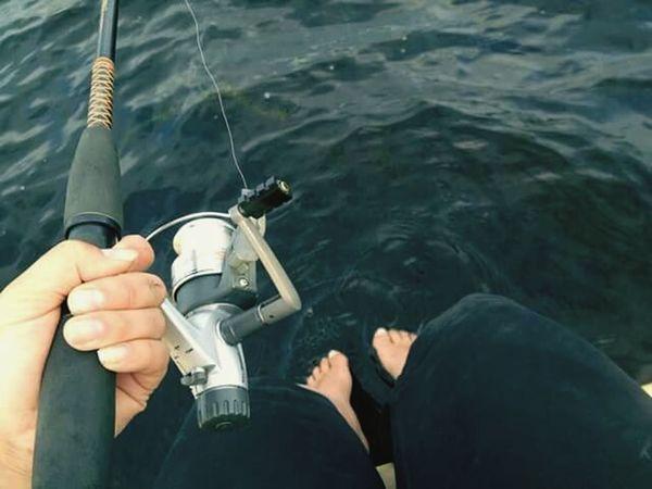 Holiday POV Enjoying Life Fishing Life Feetinthewater Cottage