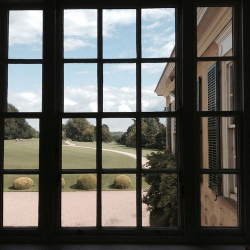 A Room With A View Polsden Lacey Window The National Trust Surrey