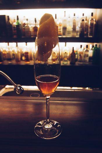 Brandy Crusta Cocktail Drinks Korea Mixology Brandy Cafe Louis Cocktails