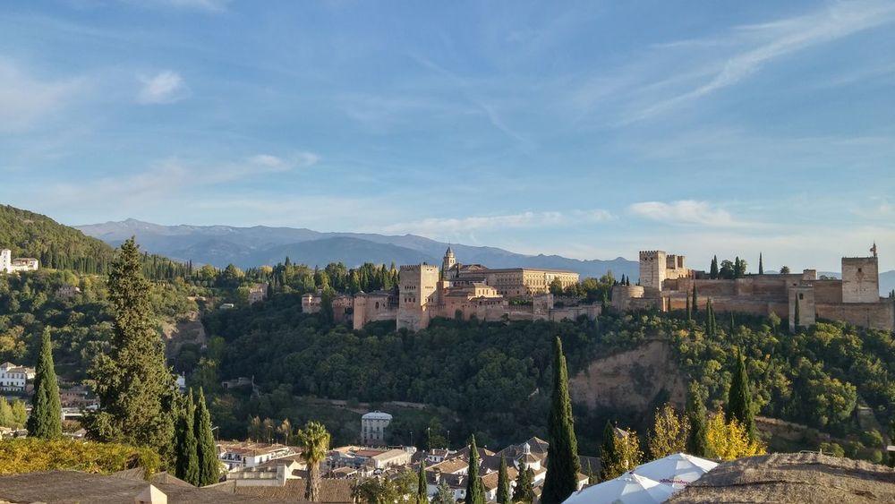 Vistas de la Alhambra desde el mirador de San Nicolas Granada Granadaturismo