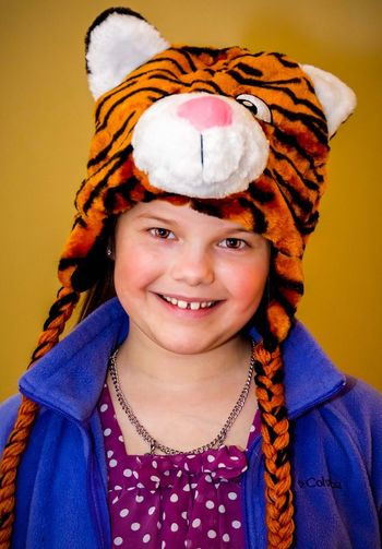 Tiger Lilly. Portrait Looking At Camera One Person Smiling Lifestyles Headshot Childhood Indoors  Headwear Close-up 365project Women Around The World