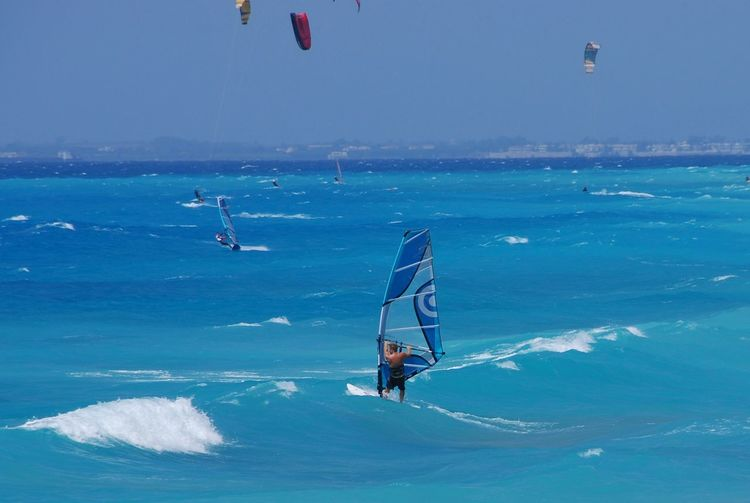 Blue Wave Noedit Nikonphotography Lefkada Kitesurfing Greece Traveling