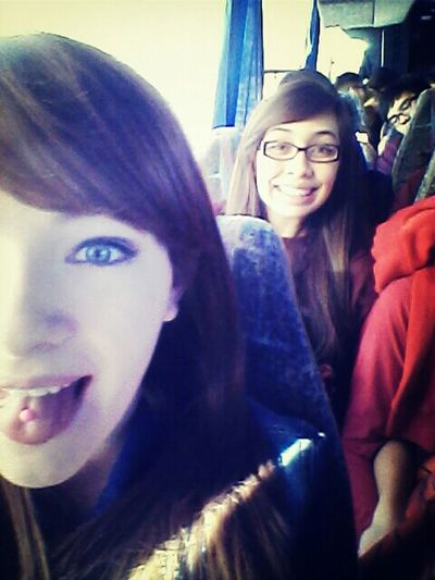 Headed back to el paso with April<3...and Carl knocked out in le backround