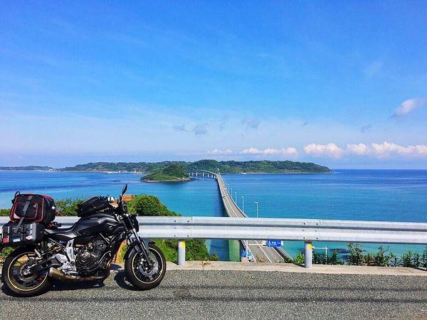 Yamaguchi, Japan Tsunoshima Tsunoshima-Bridge 山口県 角島大橋