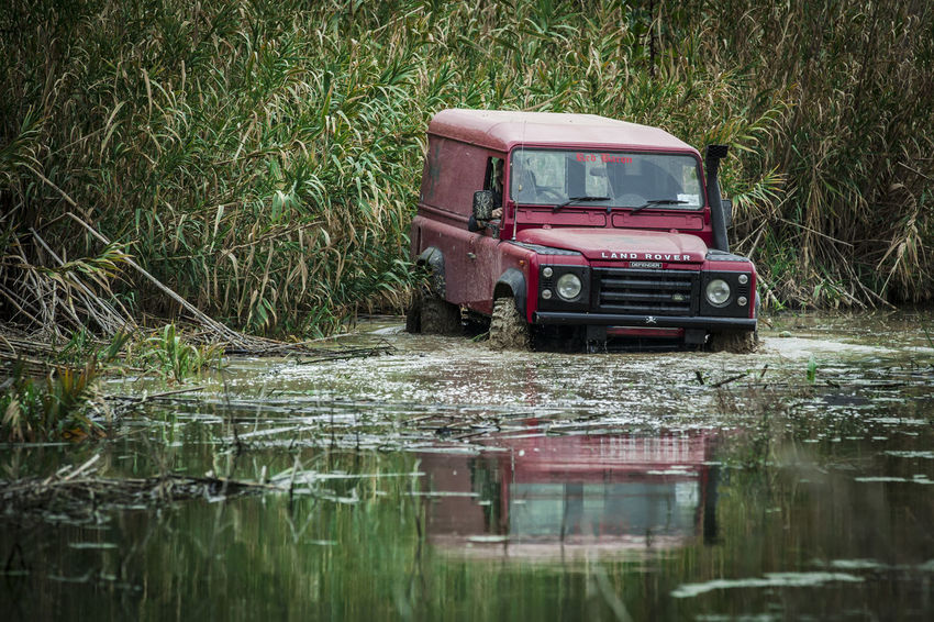 Defender 110 Adventures 110 Expedition Land Rover Off-Road Adventure Day Defender 110 Flood Grass Land Rover Defender Land Vehicle Landrover  Landy Mode Of Transport Nature No People Off-road Vehicle Off-roading Offroad Offroading Outdoors Reflection Transportation Trek Water Waterfront