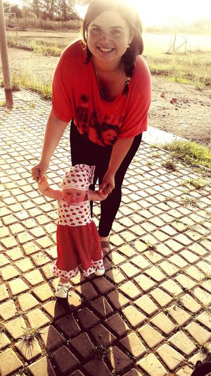 Walking Around Sweet♡ Amazing Day Niece 💕 Thanks God