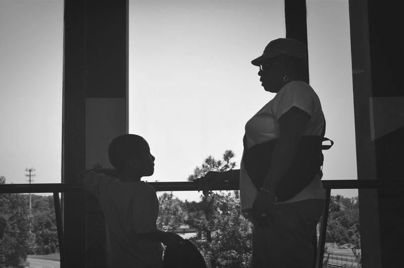 grandmother with grandson Evl_industryz Photography Taking Photos Traveling Blackandwhite