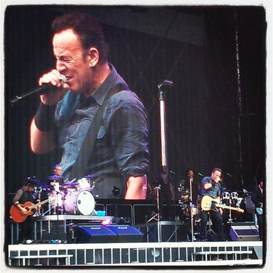 The Boss is fantastic. Concert Bruce Springsteen Bestoftheday Live Music
